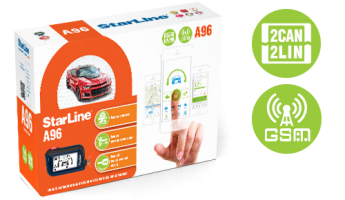 StarLine A96 2CAN+2LIN GSM GPS